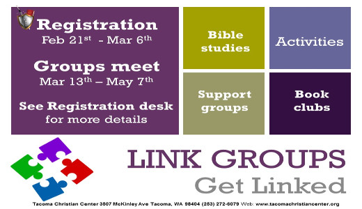 Link Group flyer with dates